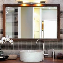 зеркало бронза, серебро или графит любого размера, в любом багете в ванную комнату