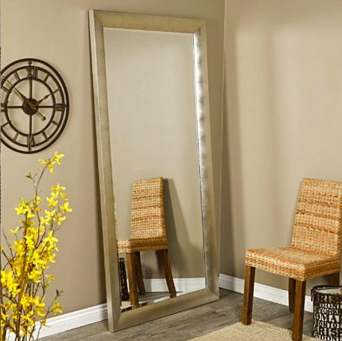 зеркала напольные с подставкой в ассортименте