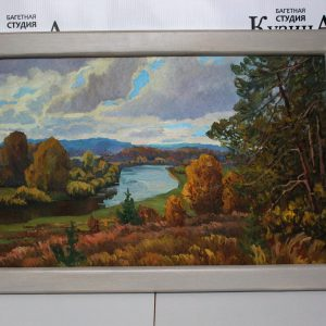 Картина «Пейзаж» холст/масло, размер 33*53