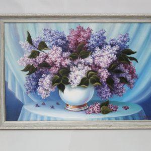 Картина «Сирень» холст/масло 40*60