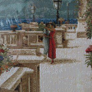 Гобелен «Свидание на набережной» размер 35*51 в багетной рамке