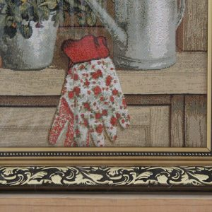Гобелен «Буфет дачный» размер 35*50 в багетной рамке